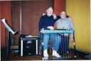 Weldon in Studio w longtime friend, Eddie Owen.jpg